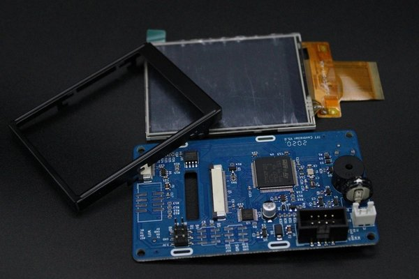 Display inkl. Rahmen + Usb Adpater Board/FFC + Mainboard