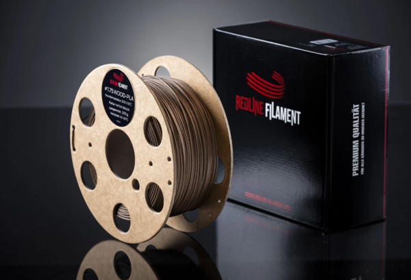 PLA - Holz Filament Naturebraun Ø 1,75 mm - 0.5 kg